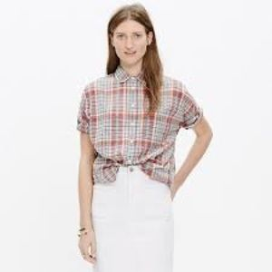Madewell Courier Shirt in Kerchief Plaid